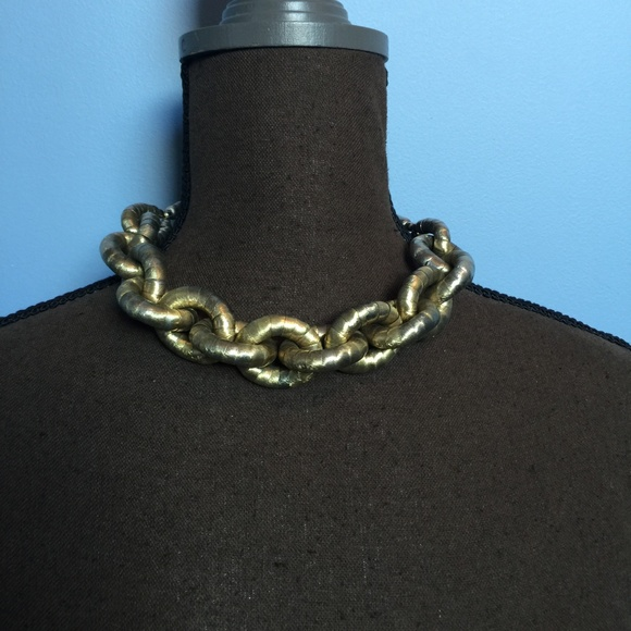 Vintage Jewelry - Vintage Chunky Chain Statement Necklace